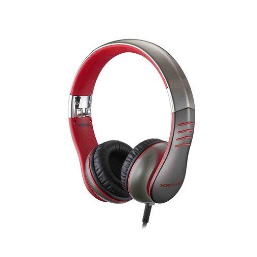 Fone De Ouvido Profissional Casio Xw H3 Vermelho