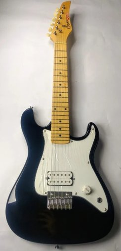 Guitarra Condor Infantil Rx1 Toys Club Preta Outlet Acessori
