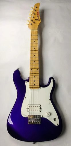 Guitarra Condor Infantil Rx1 Toys Club Roxa Capa Acessorios