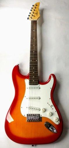 Guitarra Condor Rx10 Rx-10 Strato Cherryburst C/ Nota Fiscal