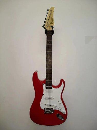 Guitarra Condor Rx10 Rx-10 Strato Vermelha C/ Nota Fiscal