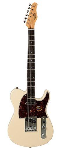 Guitarra Tagima Brasil T 910 Olympic White Escala Escura