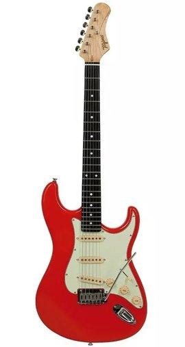 Guitarra Tagima Edu Ardanuy Ea Pro 3 Fiesta Red Com Nf