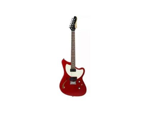 Guitarra Tagima Semi Acústica Jet Blues Vermelho Metálico