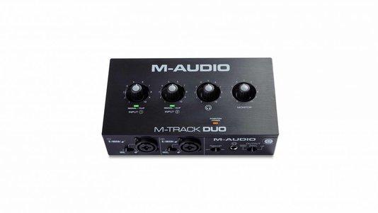 Interface De Áudio M- Áudio M- Track Duo Usb
