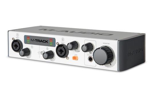 Interface De Áudio Usb M-audio M-track II