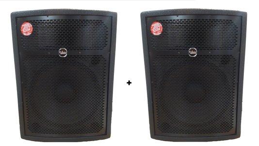 Kit 2 Caixas De Som Passiva Leacs Smart 15 150w Rms