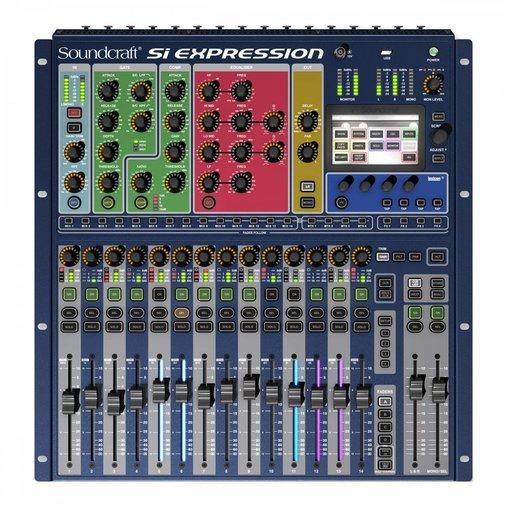 Mesa De Som Digital Si Expression1 16 Canais Soundcraft