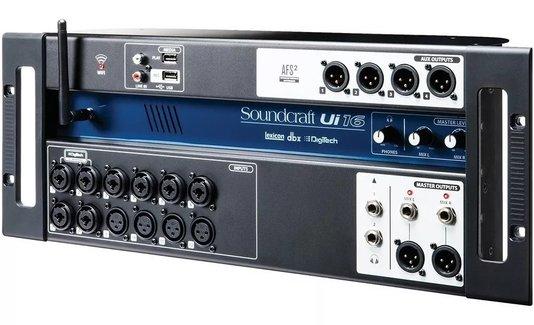 Mesa De Som Digital Ui 16 Soundcraft Ui16 16 Canais C/ Nf