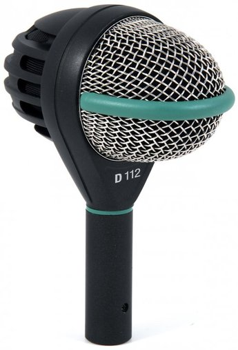 Microfone Dinâmico Para Bumbo Akg D112 Mkii Bass Drum