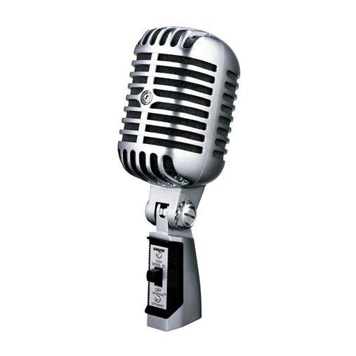Microfone Mao C/ Fio Shure 55 SH-II Series II Vintage