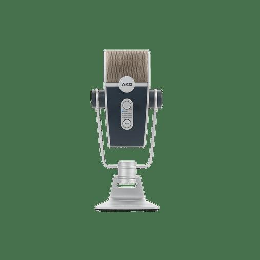 Microfone Mesa Cond Akg C44 Lyra Usb Ultra-hd Multimode