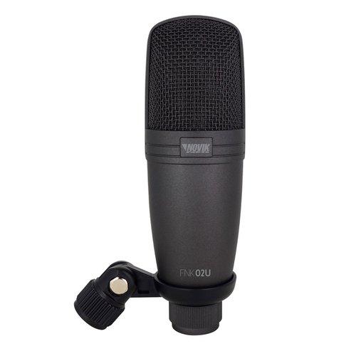 Microfone Para Estudio Novik Nk Fnk 02u U Usb