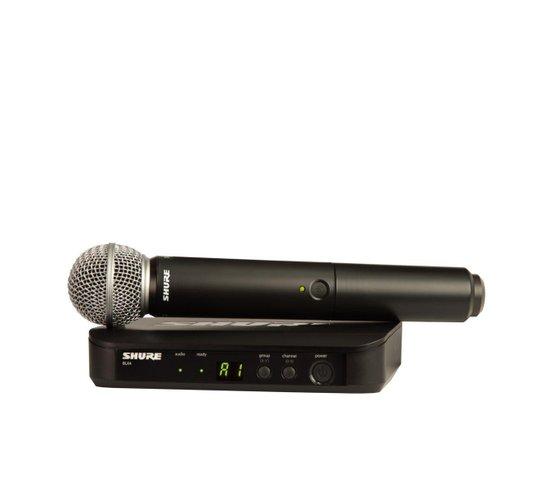 Microfone Sem Fio Shure Blx24br/sm58 J10 Original