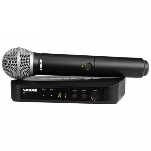 Microfone Sem Fio Shure Wireless Blx24 Pg58 J10