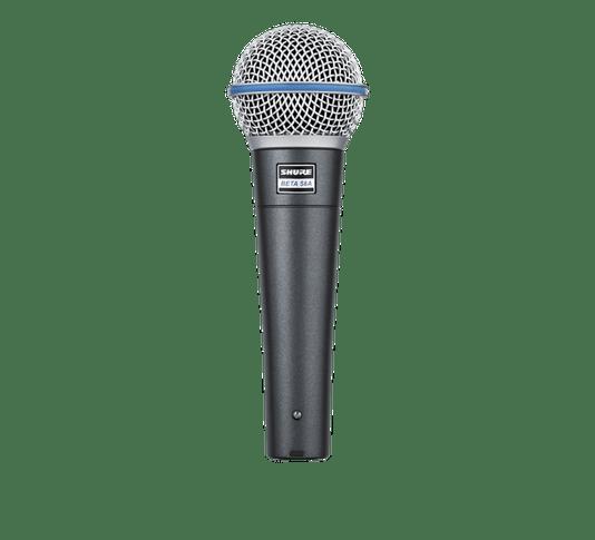 Microfone Shure Beta Series Beta 58a Dinâmico Supercardióide Preto