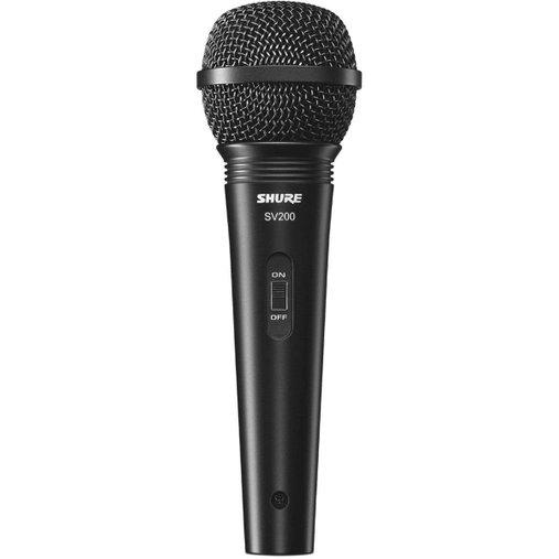 Microfone Shure Vocal Sv200 Com Cabo