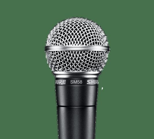 Microfone Vocal Profissional Shure Sm58 Com Nota Fiscal