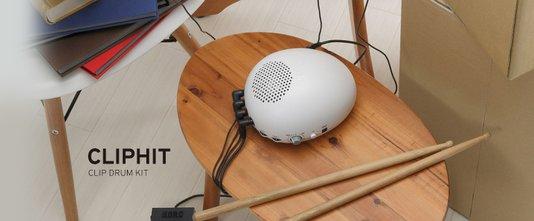 Modulo Percussão Eletrônica Korg Ch1 Cliphit