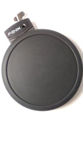 Pad Ton Bateria Eletronica Fenix Efd400 Preto C/ Nota Fscal