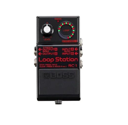 Pedal De Efeito Boss Rc-1 Bk Edição Limitada