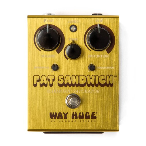Pedal De Efeito Dunlop Fat Sandwich Distorcion Way Huge