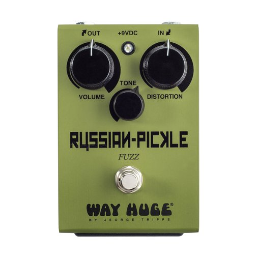 Pedal De Efeito Dunlop Russian Pickle Fuzz Way Huge - Whe408
