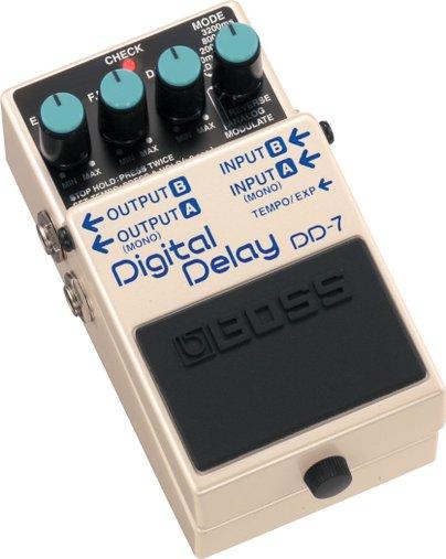 Pedal De Guitarra Boss Dd-7 Digital Delay - Dd7