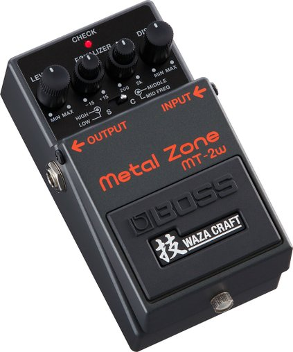 Pedal De Guitarra Boss Mt-2w Metal Zone Waza Craft Mt2w