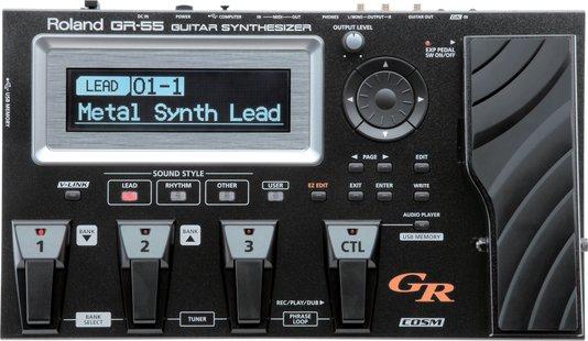 Pedaleira Sintetizador Midi Roland Gr55 Gk3 Preta