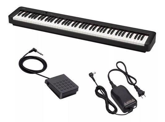 Piano Digital Casio Cdp S100 Bk Stage 88 Teclas + Estante Teclado