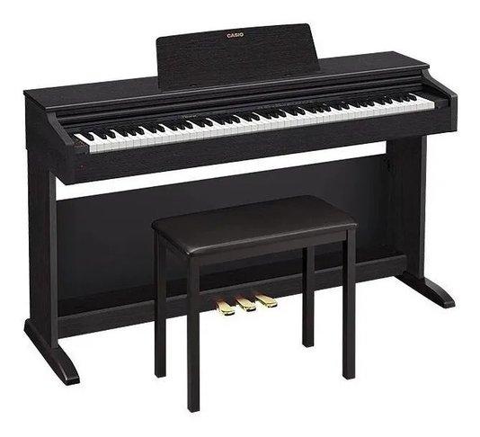 Piano Digital Casio Celviano Ap 270 Bk Com Banco - Preto