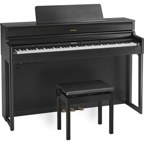 Piano Digital Roland Hp704 Dr Com Banco