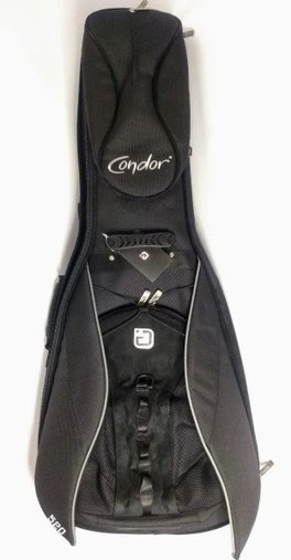 Semi Case Bag Guitarra Condor Igig G520 Blk Deluxe C/ Nf
