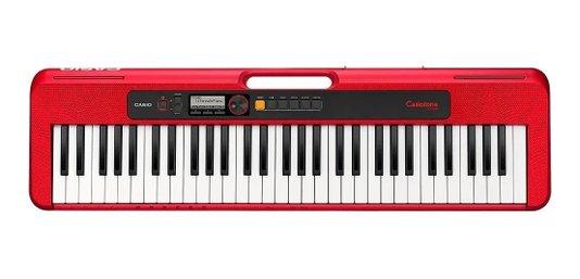 Teclado Casio Casiotone Ct S200 Red C2 Br Vermelho 61t C/nf