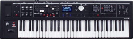 Teclado Sintetizador Roland Vr 09 B 61 Teclas Preto