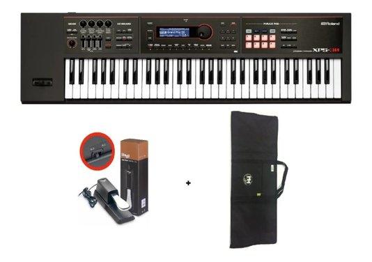 Teclado Sintetizador Roland Xps 30 61 Teclas + Capa + Pedal