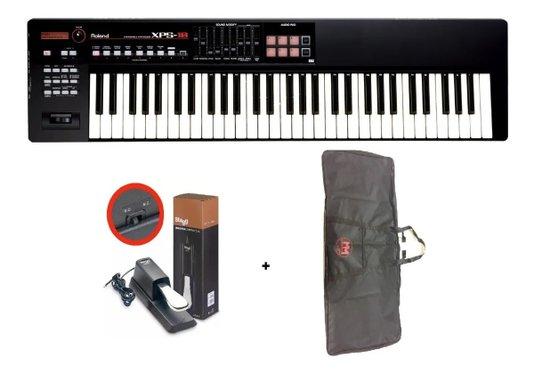 Teclado Sintetizador Xps10 Roland + Capa +  Pedal Com Nf
