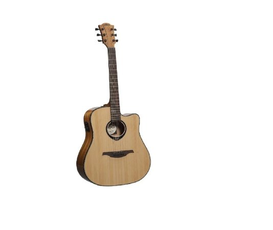 Violão Lag Tramontane Dreadnought T66dce Natural