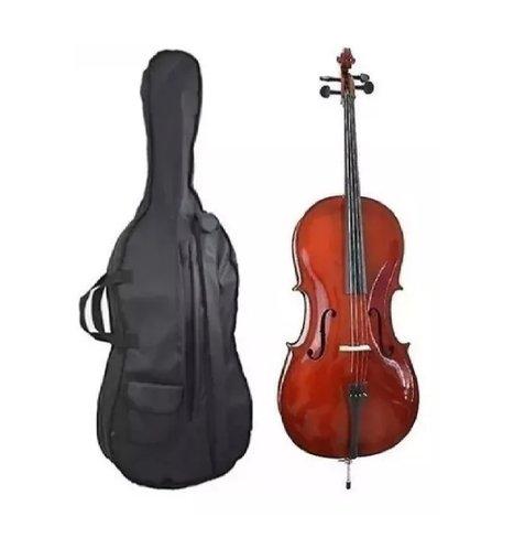 Violoncello Vivace Cmo 44 Mozart 4/4 C/ Capa/arco/breu