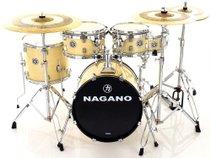 Bateria Nagano Garage Gig Natural Ivory Bumbo 18''